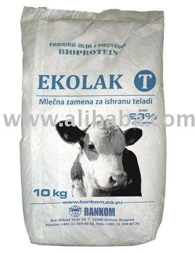 T ekolak - natural de substituição do leite para bezerros de nutrição