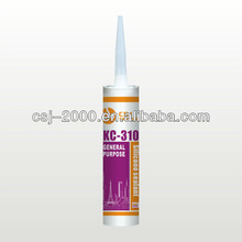 Acetoxy silicon sealant for glass and building material KC-310