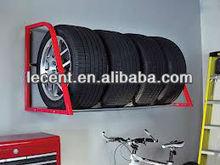 wall mount tires racks