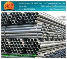 china welded black iron tubes/ carbon sreel tube round/square/rectangular section internetio