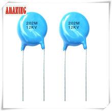 disc type ceramic capacitor Y Cap. Safety standard recognized AC ceramic capacitor