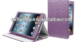 Hot selling PU case for iPad mini cute silicone case for ipad mini