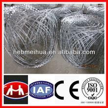 high quantity galvanized razor wire /zinc coated razor wireISO9001 (factory)