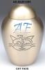 Brass Pet Urn (Metal Pet Urn-Pet Urn) !