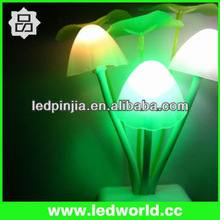 LED Optical Control bedroom Lamp ,Colorful led night light