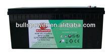Solar panel system battery 12V200AH