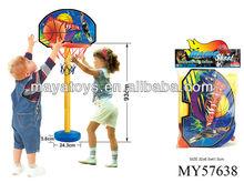 Plastic training basketball set