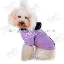 fashion pet hoodie