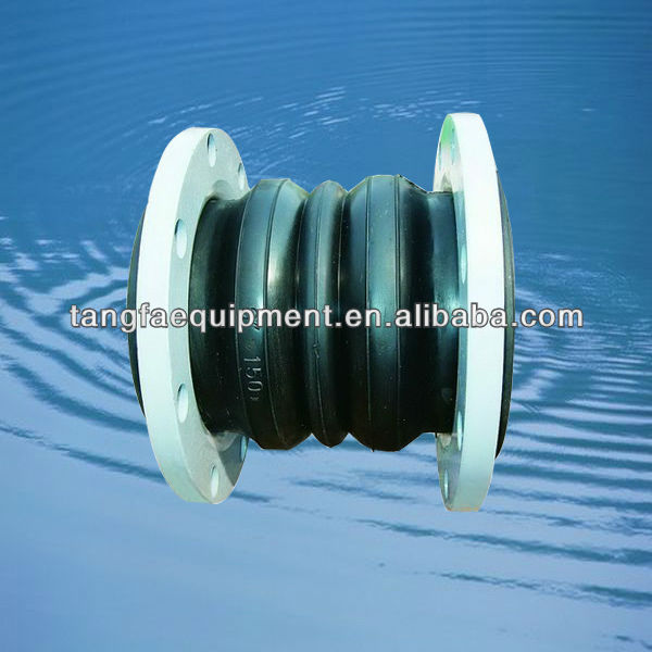 double sphere ANSI standard rubber expansion joint