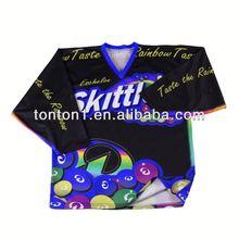 2012 new canada 100% polyester ice hockey jersey