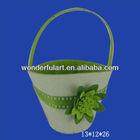 felt gift baskets raw materials used handicrafts