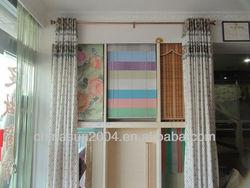 Decorative telescopic aluminum curtain rod28&23.5