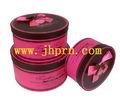 personalizado de lujo cilindro redondo de papel caja de regalo