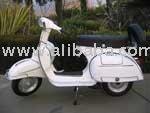 1969 Vlb Fully Restored Italian Vespa-150cc Motorcycles