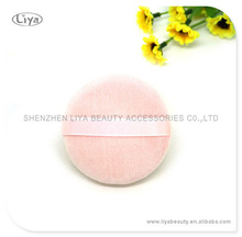 pink color short hair cotton puff