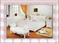 elegante diseño agradable de la pared de la cama e19