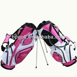 Lightweight pink golf bag