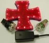 Iron Cross Warning Brake Light For Motorcycles