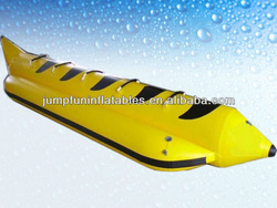 inflatable water tube games PVC banana boat