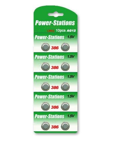 Baterias alcalinas de célula botão Lr1142 Ag12 Lr43
