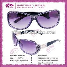 New Style 2011 Fashion Sunglasses For Women Purple Lens
