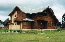Prefabricated Houses Of Massive Wood