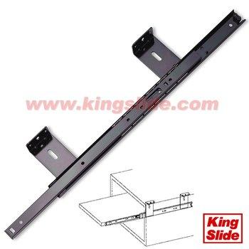 3 / 4 Extension Ball Bearing Slide-Under Shelf Or Under Counter Slide