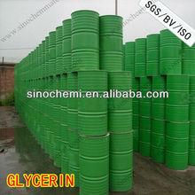 Glicerol 95% 99.5% cosméticos / farmacêutica / Food Grade glicerina