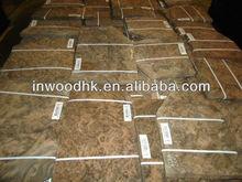 black walnut burl wood veneer