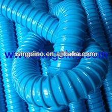 Blue Corrugated Suction Hose Plastic Pipe