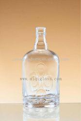 hight clear spirit bottle