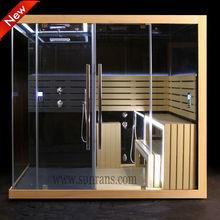 2013 New design Luxury magic sauna,steam sauna bath shower combination for a lovely family SR166