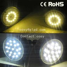 HIGH-LUX lamps led mr16 5w SMD 1W-18W Die-Cast Aluminum + PC