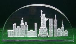 3d New York Skyline