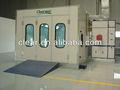 Projeto de cabine de pintura Car cabine de pulverizador pintura automotiva Booth HX-600