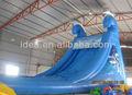 Baratos piscinainflable de diapositivas, tobogán de agua para los niños ws058