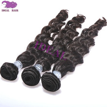 Popular high quality human hair good repuration virgin indian curly
