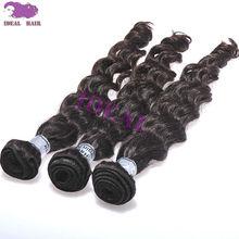 Popular high quality human hair good repuration virgin indian curly