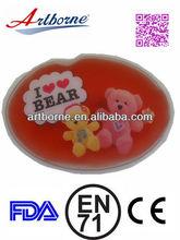 Artborne Silk printing magic msds sodium acetate snap hand warmer - Gift Items CE /FDA/EN71/RoHS Approved