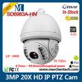 Stoktaki ucuz DAHUA 3MP Full HD 20x IR IP Dome PTZ IP onvif2.0 100m ir kamera gece görüş CCTV güvenlik açık
