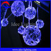 Hot sale LED fiber light ball for home decoration