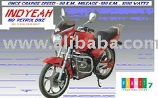 Hybrid Two Wheeler, Liberty Hybike Motorcycle