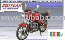 Hybrid Two Wheeler, Liberty Hybike Motorcycle