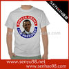 o-neck advertising t shirt/ OEM cotton south africa election campaign t-shirt