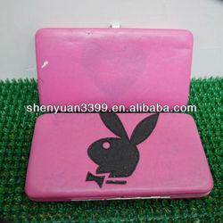 high grade pu zipper handbag for ladies