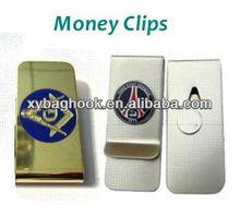 Custom metal nautical money clip