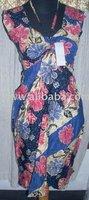 Batik Halter dress In Various Colour