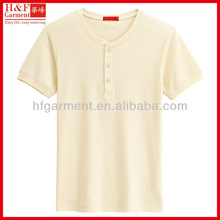 High quality blank t-shirts urban beige made of cotton jersey