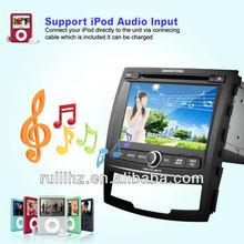 Ssangyong Korando Auto Radio GPS Car DVD 2 din with 3 G / Wifi