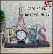 MA-0140 Most popular Iron Clock Wall Art Craft